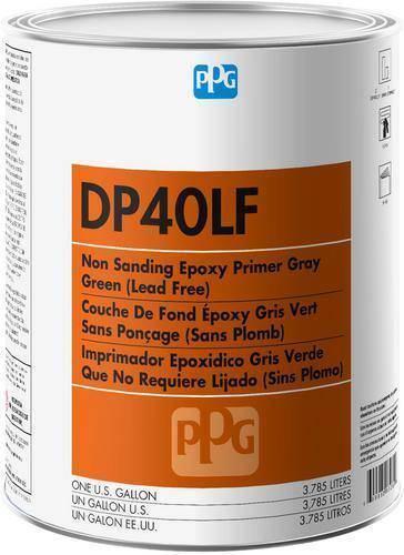 DP40LF PPG Refinish Deltron 1 Gallon Gray Epoxy Primer - Gray (1 Gallon)